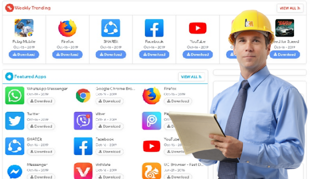 إنشاء متجر إلكتروني  لتحميل التطبيقات و البرامج  على بلوجر  قالب Pure APK