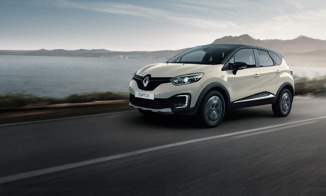 O novo Renault CAPTUR é elegante em cada detalhe