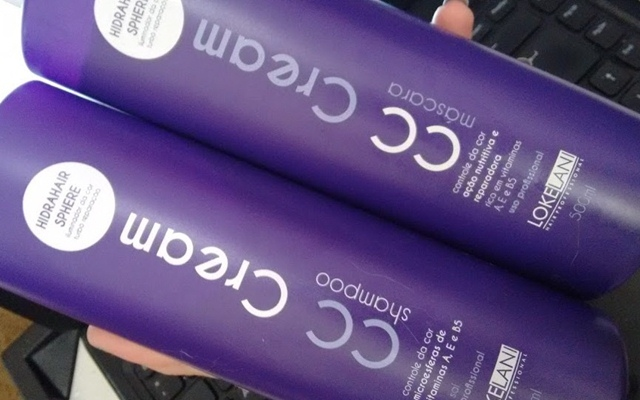 CC Cream Matizador para cabelos