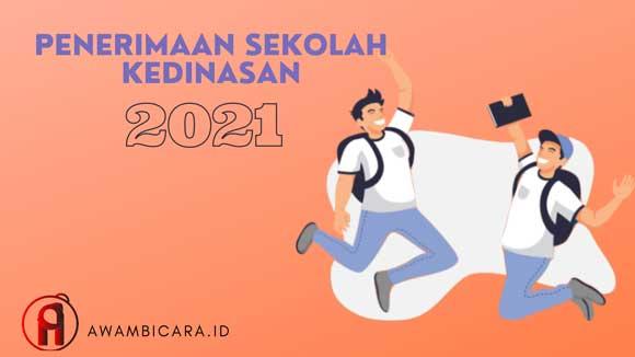 penerimaan sekolah kedinasan 2021