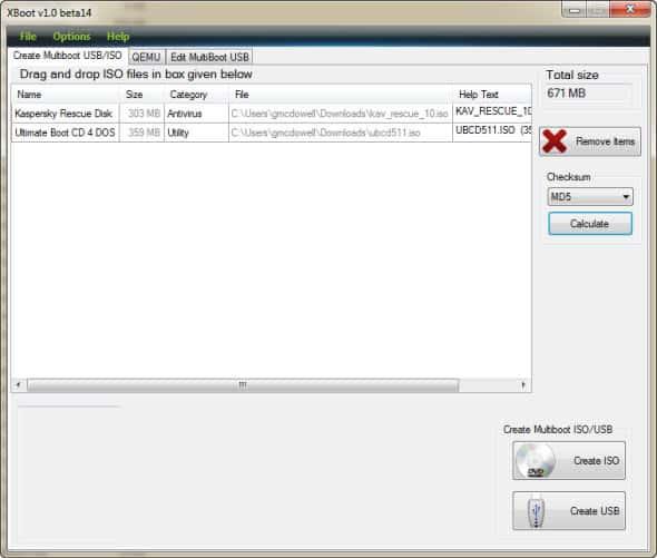 Cara Dual Boot Sistem Operasi dengan USB Flashdisk - XBoot 1