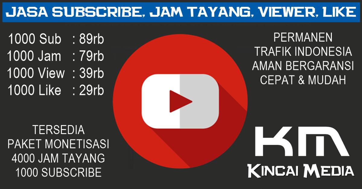 Tambah 4000 Jam Tayang & 1000 Subscribe Youtube