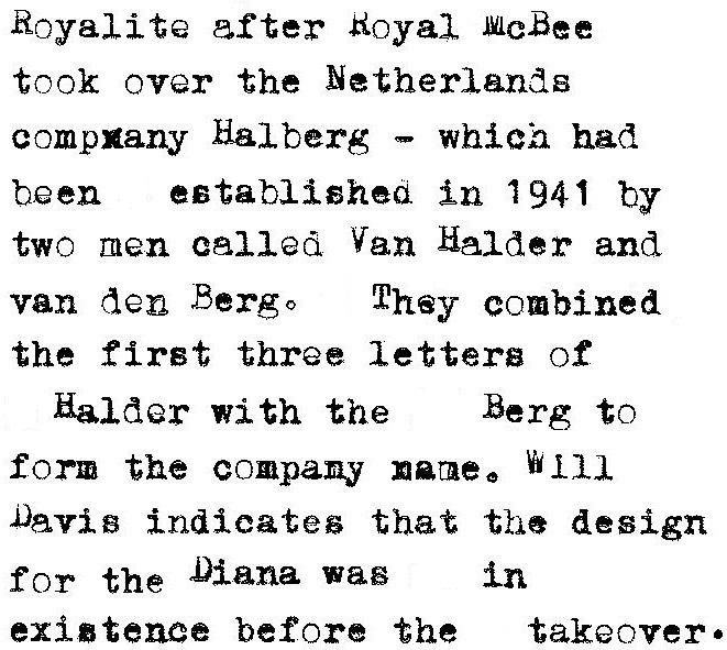 oz.Typewriter: The Royal Diana Portable Typewriter