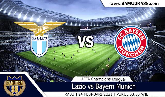 Prediksi Bola Terpercaya Lazio vs Bayern Munich 24 Februari 2021