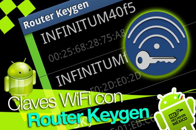 Mejores Aplicaciones Para Descifrar Claves Wifi Android 2019: Router Keygen: Descifrar Claves WiFi En Android