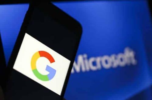 Google and Microsoft sued again