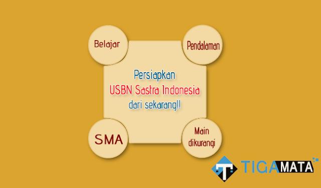 Prediksi Soal USBN Sastra Indonesia SMA 2019 dan Kunci Jawaban