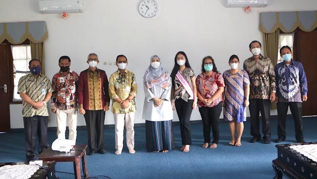 Feodara wakili NTB pada Kompetisi Putri Batik Remaja tingkat Nasional