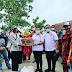 Mufrina, Ketua Badan Pengusaha MPN Pemuda Pancasila Bagikan Sembako Di Subang