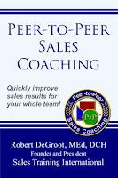 Peer-to-Peer Sales Coaching book cover