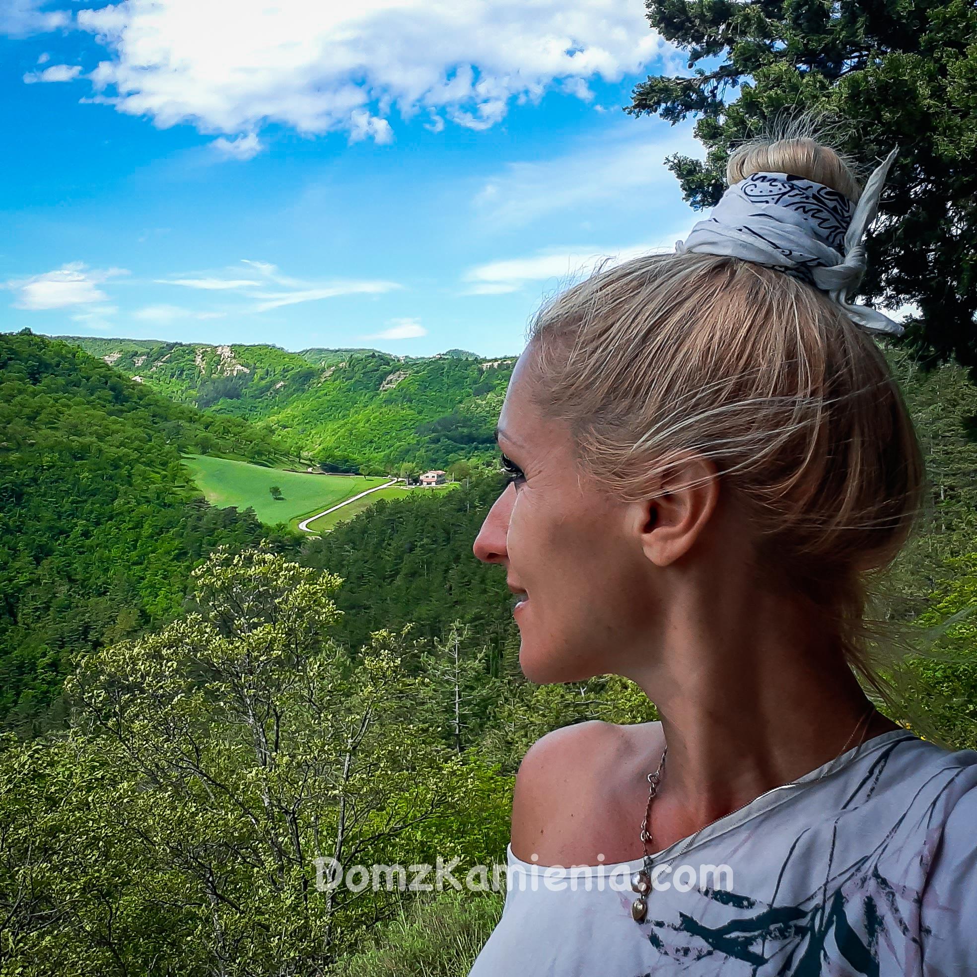 Trekking z Domem z Kamienia, szlak Dantego Marradi