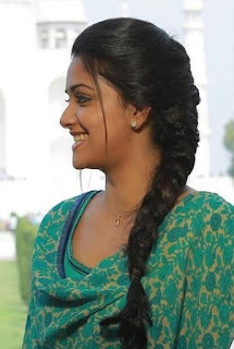 Keerthy Suresh in Green Dress with Cute Smile in Saamy Square