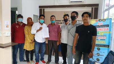 Mantap, Calon BPD Senggoro Resmi Melaporkan Ke Kejari Bengkalis Terkait Kejanggalan Pada Pemilihan BPD
