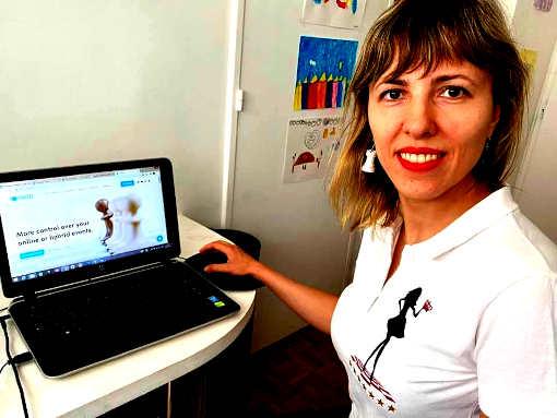 Tatiana Dornbusch dispute la finale avec l'équipe 100% féminine de Monaco