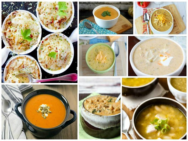 Best Homemade Soups featured on Walking on Sunshine Recipes.