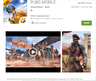 PUBG mobile- best played games of 2019