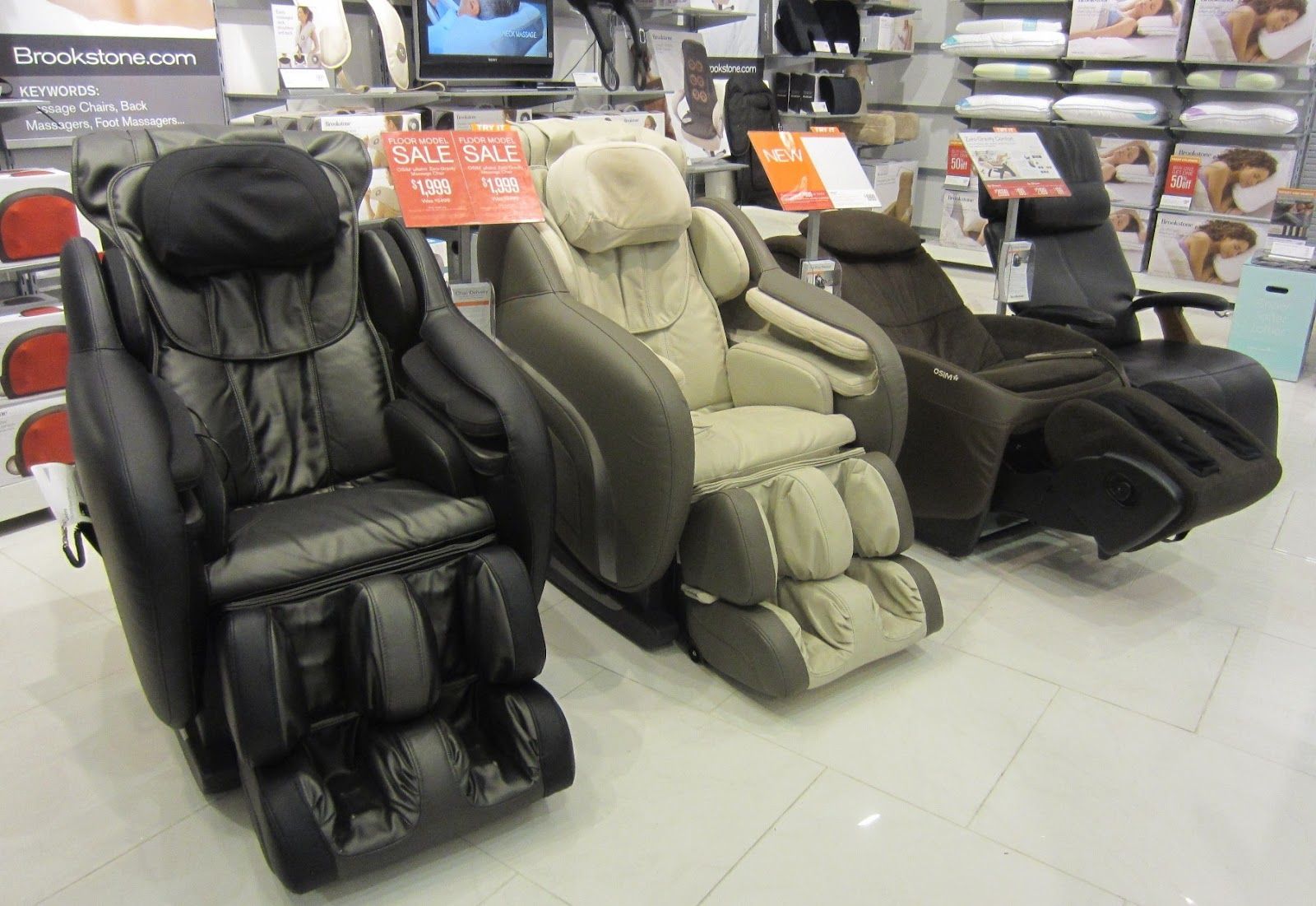Osim Ustyle2 Massage Chair Evan And Lauren S Cool Blog 7 17 12 Brookstone Cool Products For