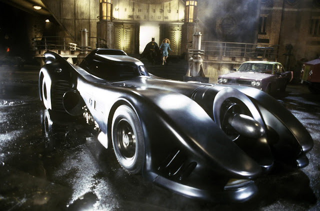 Batman v Superman: Dawn of Justice Tim Burton Batmobile for Batman
