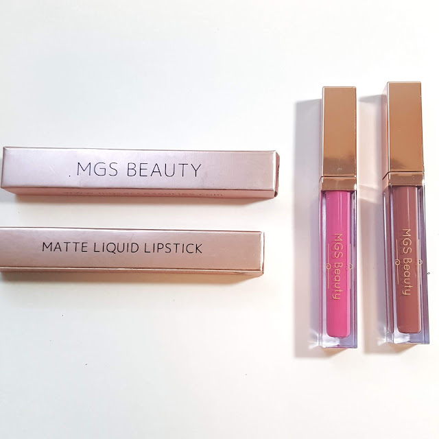 MGS Beauty Liquid Lipsticks Review + Wear Test