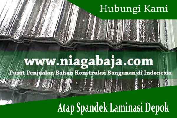 Harga Atap Spandek Laminasi Depok 2021