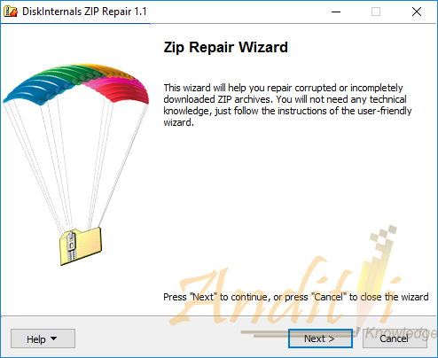 Cara Memperbaiki File ZIP yang rusak atau corrupted-anditii.web.id
