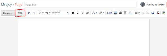 Cara mudah buat sitemap blogspot