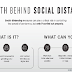 The Math Behind Social Distancing #infographic