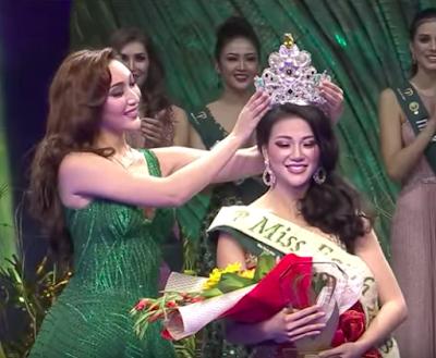 Miss Earth 2018 Phuong Khanh Nguyen