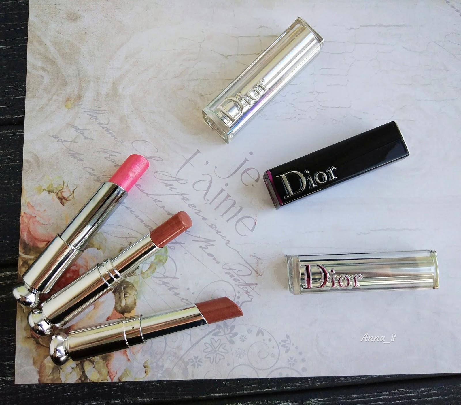 bd56b1f19a Beauty Stuff: Dior Addict Lipstick - три оттенка помад