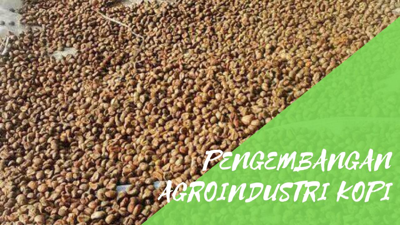 Pengembangan Agroindustri kopi