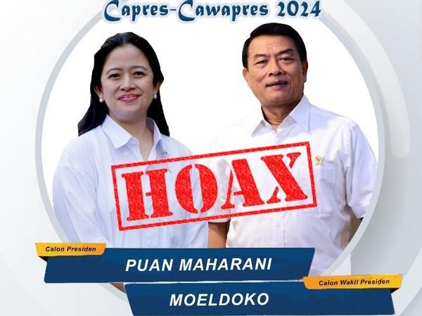 Poster Puan-Moeldoko dan JK-AHY Dianggap Awal 'Perang' Menuju 2024