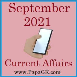 September Current Affairs 2021 PDF Free Download in Hindi