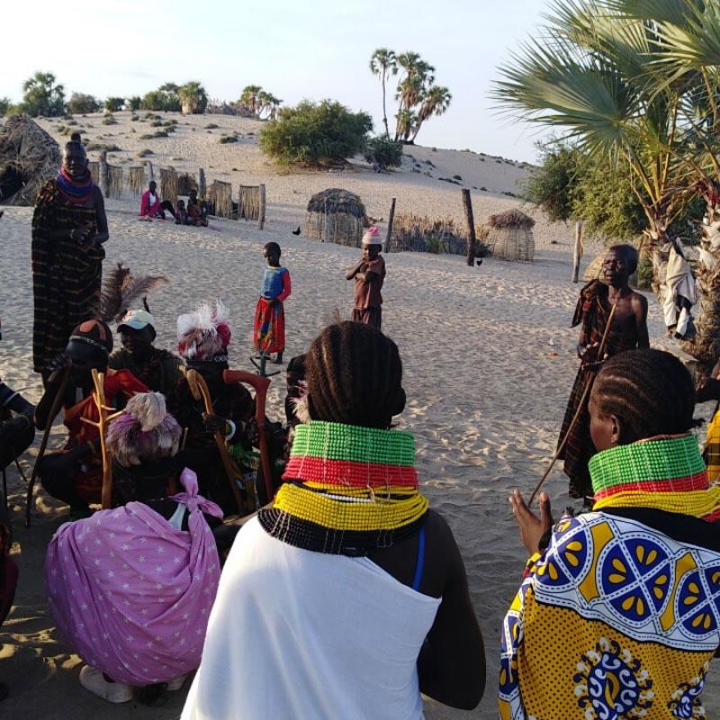 Turkana Village in Kenya