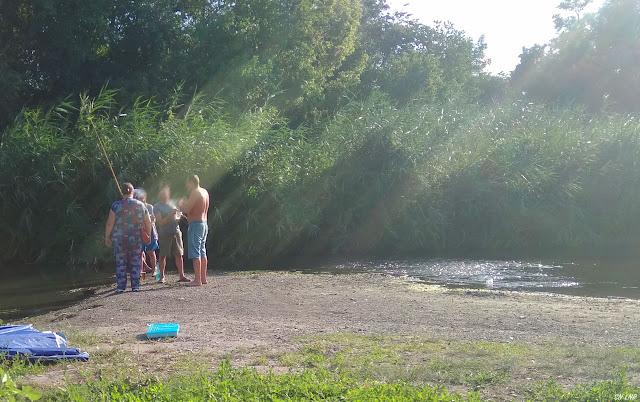 Отдых на Желтянке (река Лугань) 2020 год