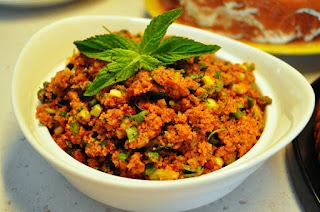 Kisir (Turkish Bulgur Wheat Salad)