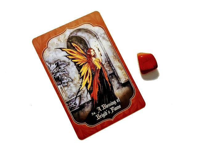 A Blessing of Brigid's Flame - Faery Blessing Cards