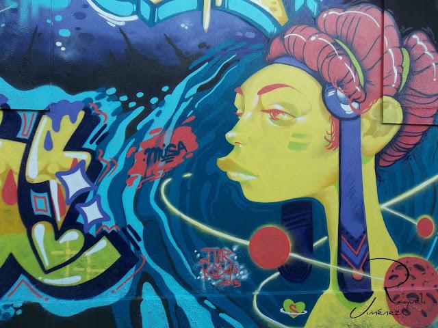 grafitti en Lugo