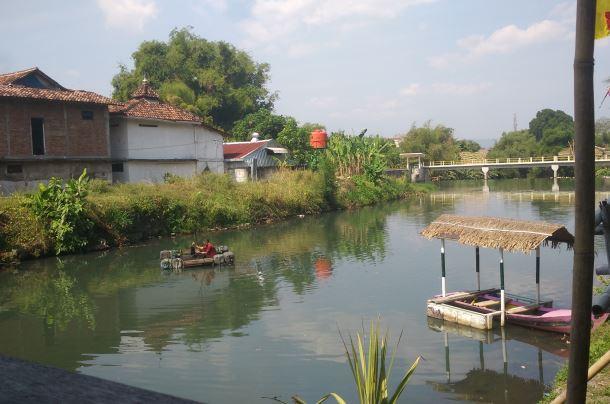 Wisata Sungai gajahwong jogja