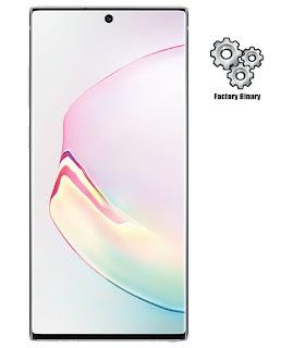 Samsung Galaxy Note 10 Plus SC-01M Combination Firmware