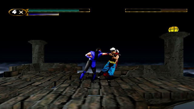 Mortal Kombat Mythologies: Sub-Zero - PSX - Captura 4
