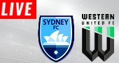 Sydney FC LIVE STREAM streaming