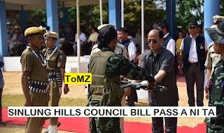 Sinlung Hills Council Bill 2018