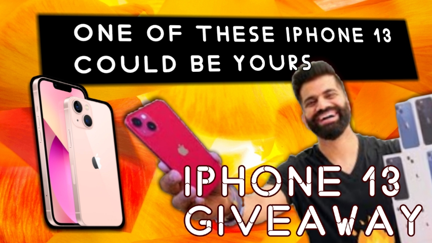 iPhone 13 giveaway is here. This is how to win it for free