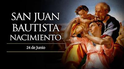 Resultado de imagen para Natividad de San Juan Bautista
