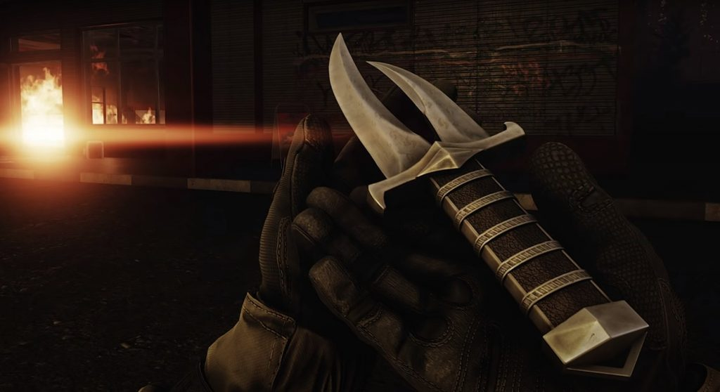 The cultist dagger is a deadly melee weapon.
