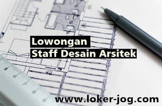 Lowongan Staff Desain Arsitek