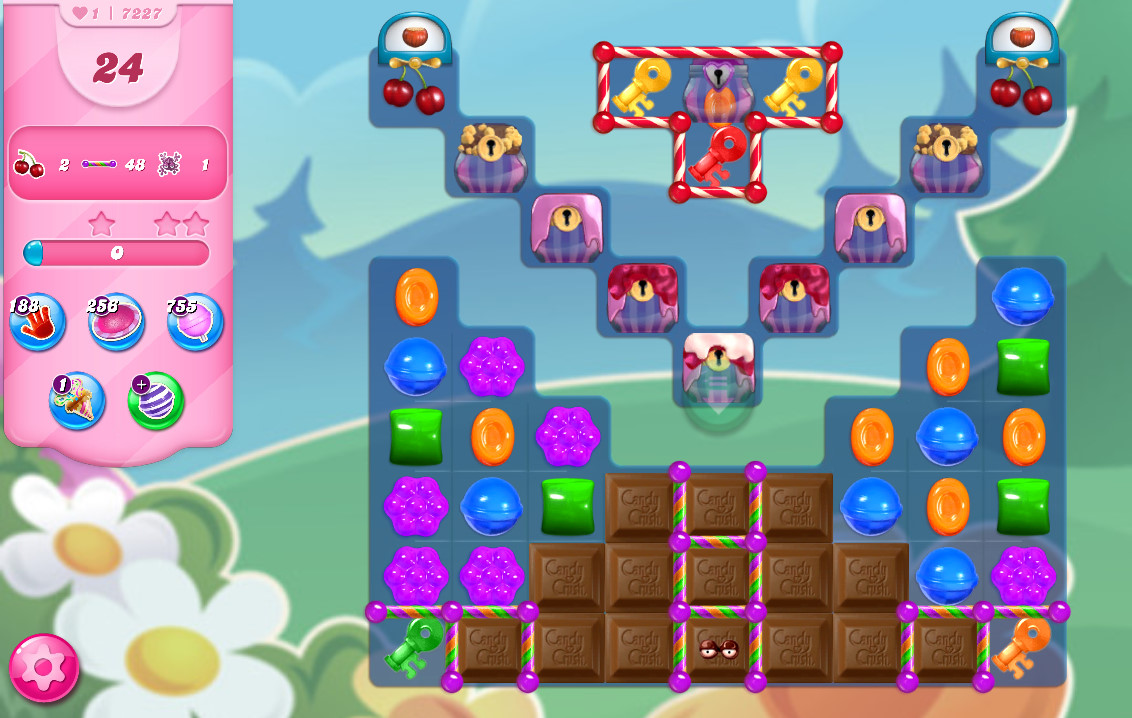 Candy Crush Saga level 7227