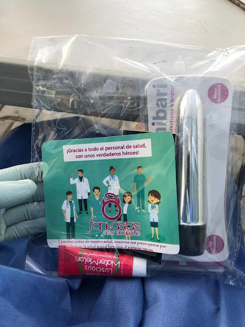 En agradecimiento por combatir el COVID regalan juguetes sexual es a enfermeras