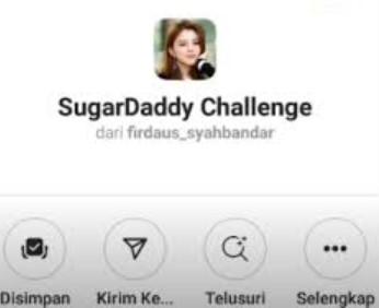Filter Sugar Daddy Instagram