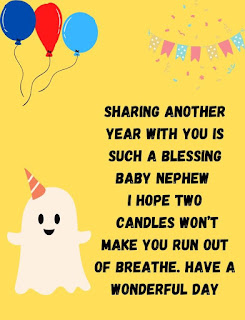 birthday wishes for little nephew